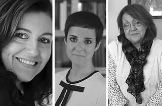 Tània Juste, Gemma Ruiz i Patrícia Gabancho