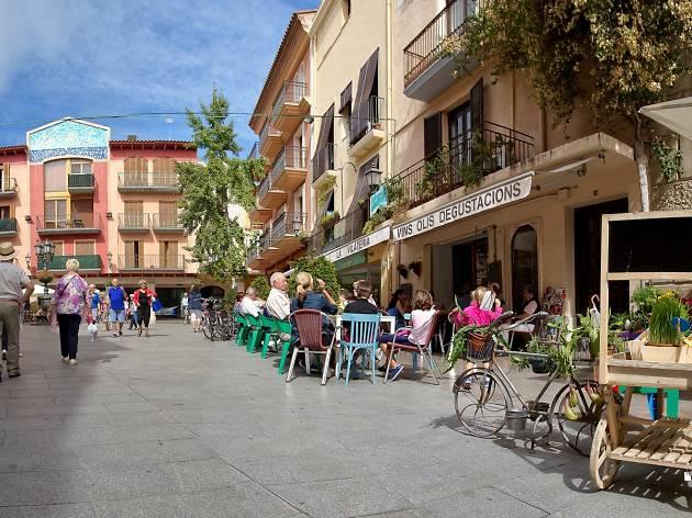 Plaça barri antic de Cambrils