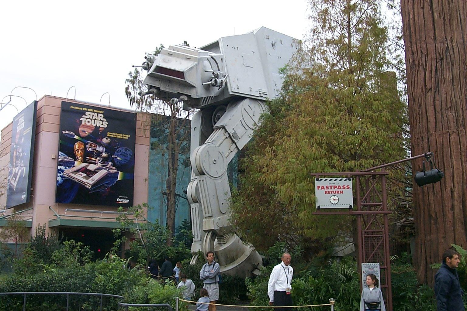 Star Tours Opening Disneyworld