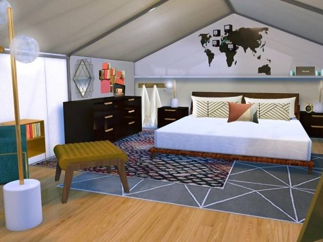 Marriott will build 8 glamping tents for guests to stay at during Coachella