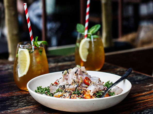 Help the homeless by eating kingfish poké