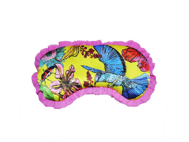Hummingbird eye mask by Jessica Russell Flint, mother's day gift guide, 2017,