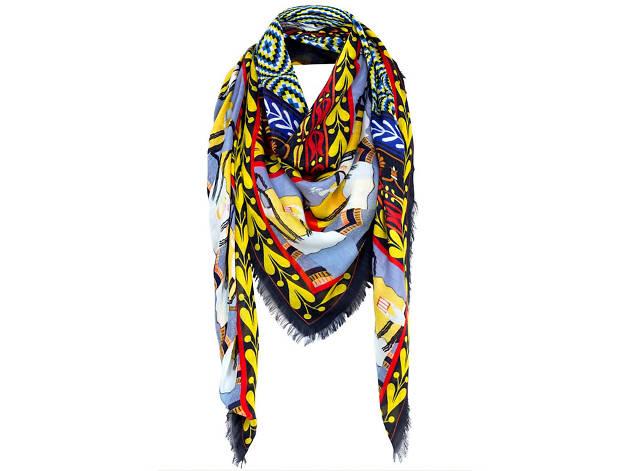 Gaia modal cashmere scarf by Mary Katrantzou