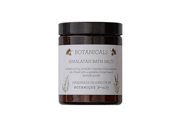 Botanicals hand-mixed Himalayan bath salts by Botanique Workshop