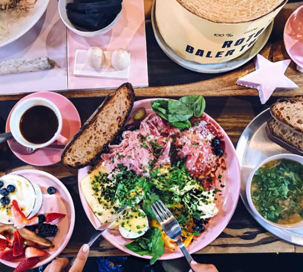 Check out this all-pink secret restaurant in Bushwick