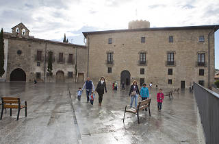 Guided tours of Santa Coloma de Queralt