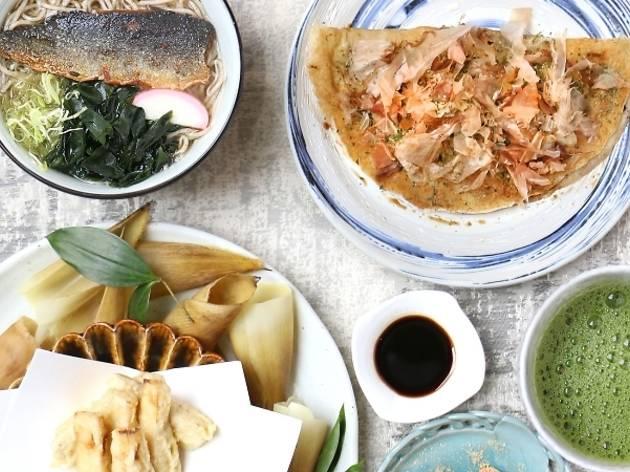 Zipangu Kyoto menu promotion