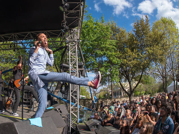 Jidenna at French Legation Museum/SXSW Music 2017