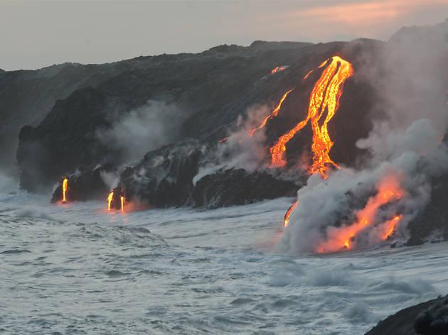 The volcanoes of Hawaii