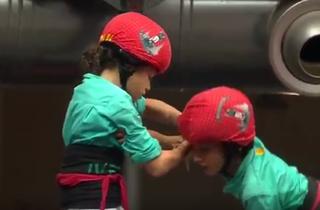 El vídeo dels Castellers de Vilafranca que bat rècords [VÍDEO]