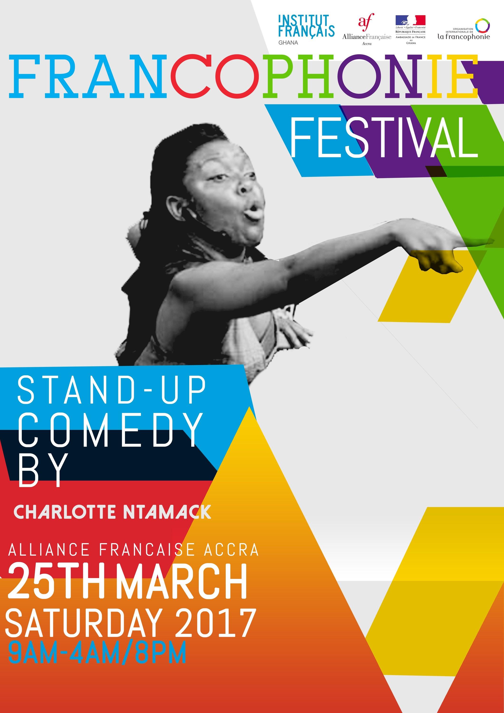 Comedy: Charlotte Ntamack at Francophonie Fair