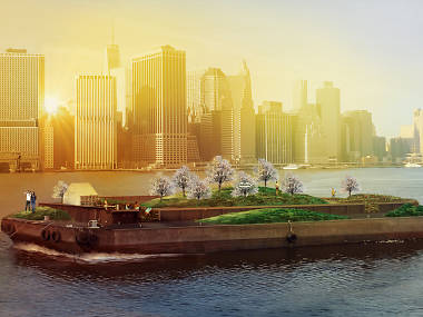 This gorgeous floating park reopens in New York this spring