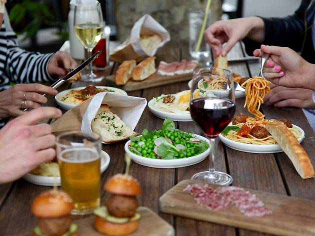 Win a dinner for you and five friends at The Meatball & Wine Bar