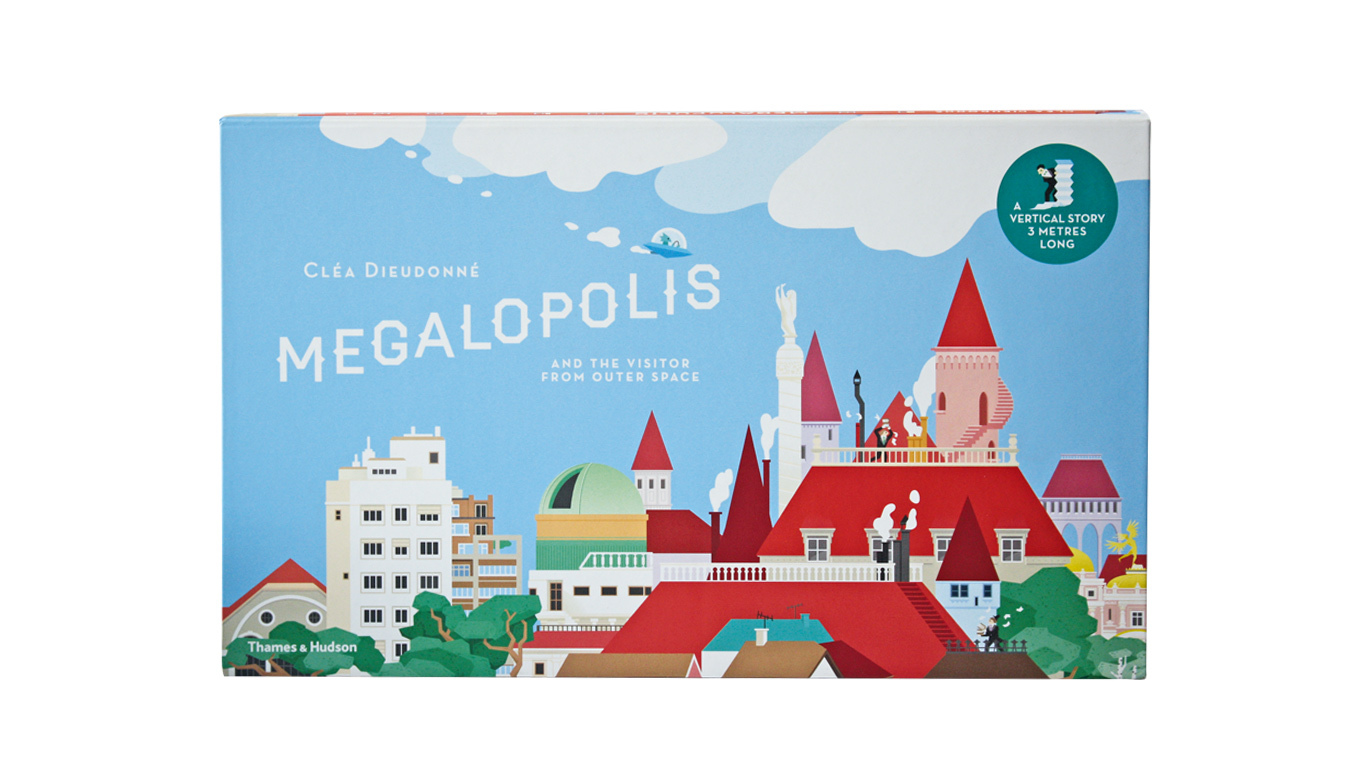 Megalopolis And The Visitor From Outer Space (Ages 5-8)