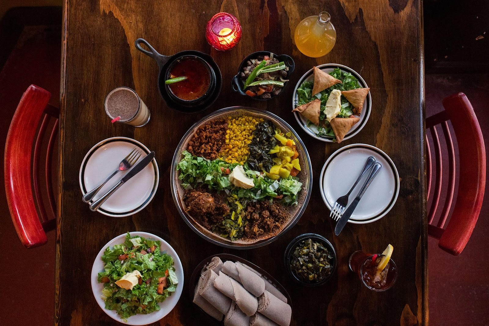 The best Ethiopian restaurants in Oakland