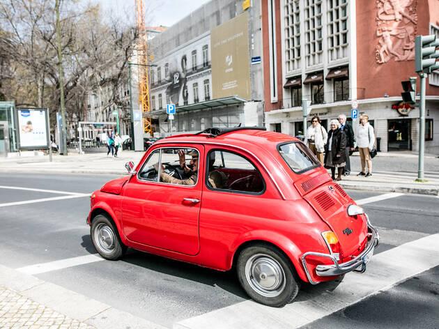 Saulo Gennatiempo trouxe este Fiat 500L de Roma