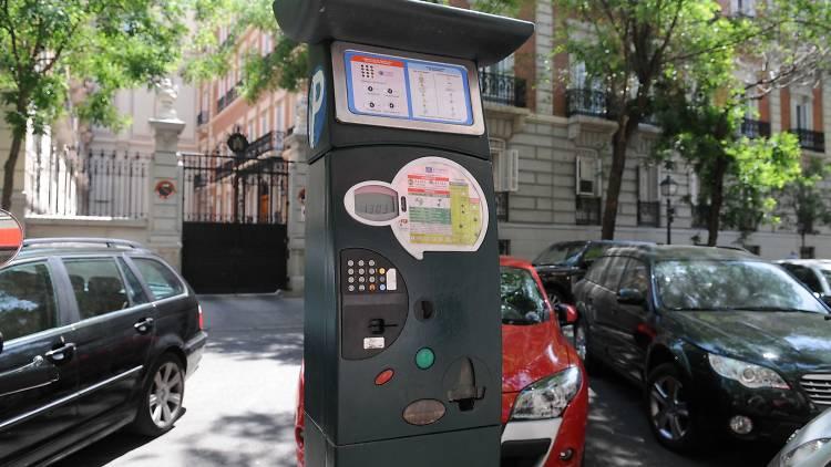 Parquimetro Madrid
