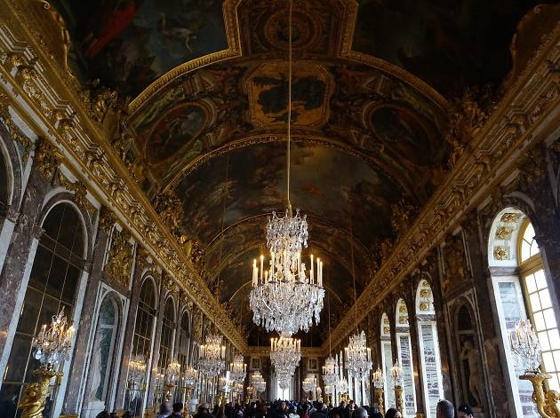 Marvel at the hall of mirrors