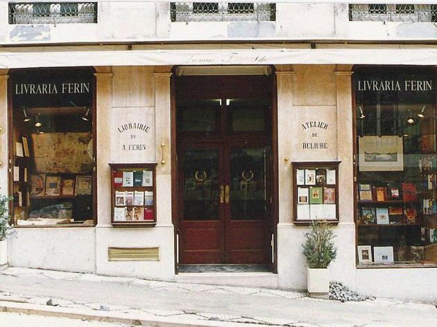 A velhinha livraria Ferin está como nova
