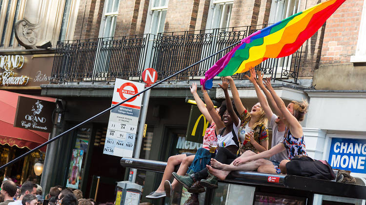 Help Pride in London build a map of LGBT+ love in the capital