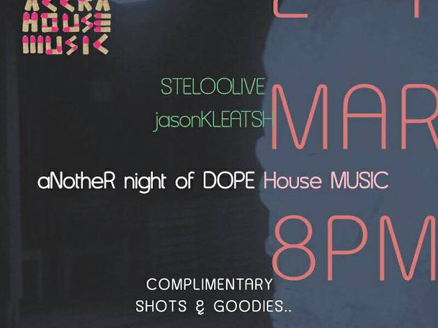 Accra House Music launch night