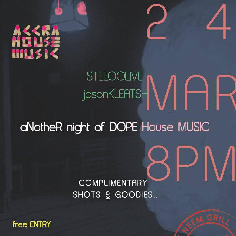 Accra House Music launch night