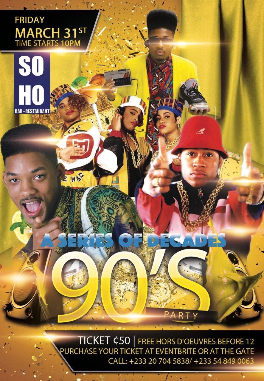 '90s Party at SoHo