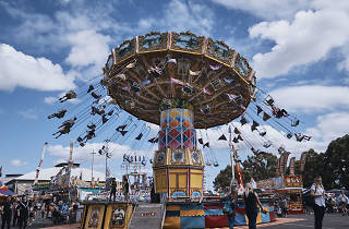 Fairground ride at the Royal Easter Show