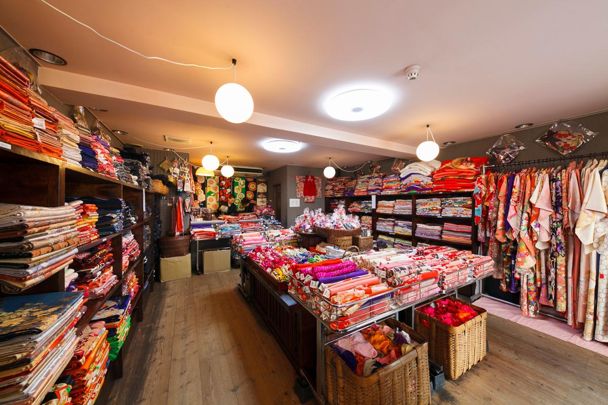 For obi and kimono fabrics