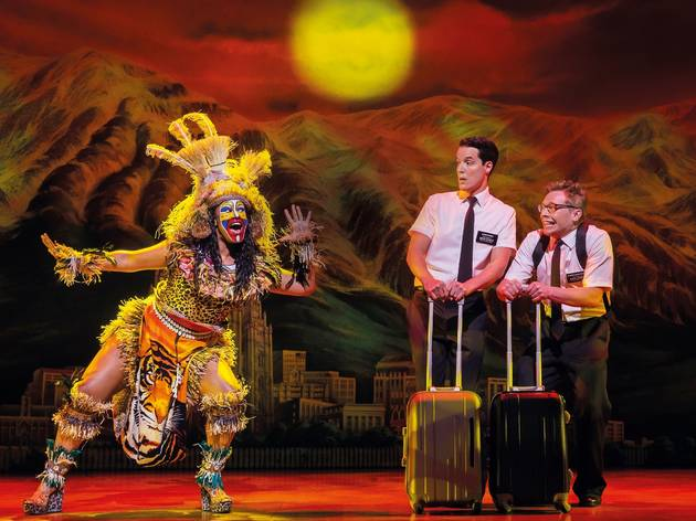 the book of mormon review time out london
