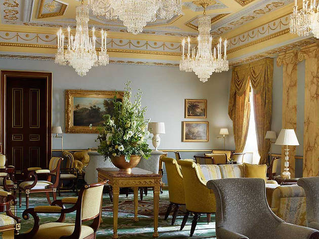 The Withdrawing Room at The Lanesborough hotel