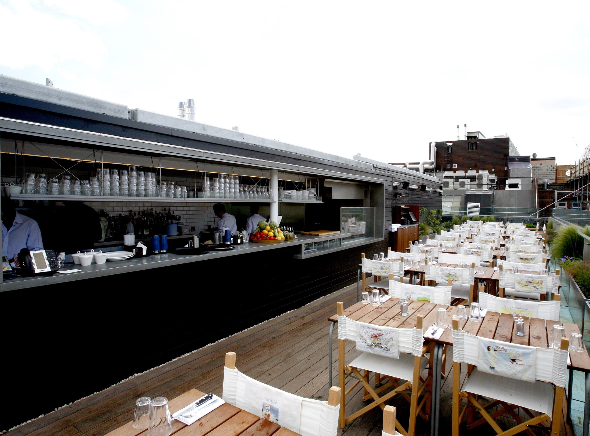restaurants with a view, boundary rooftop