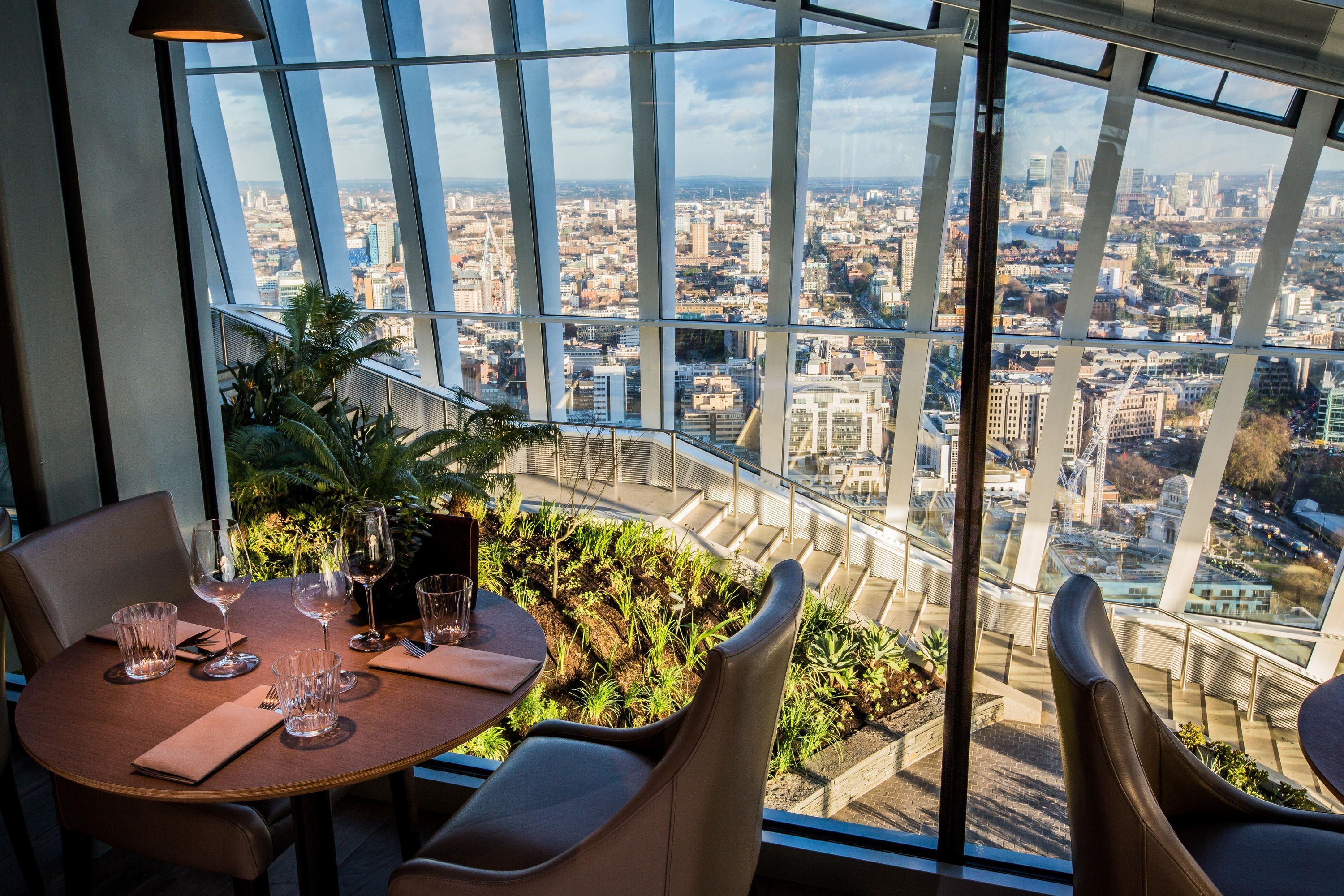 best london restaurants with a view, darwin brasserie