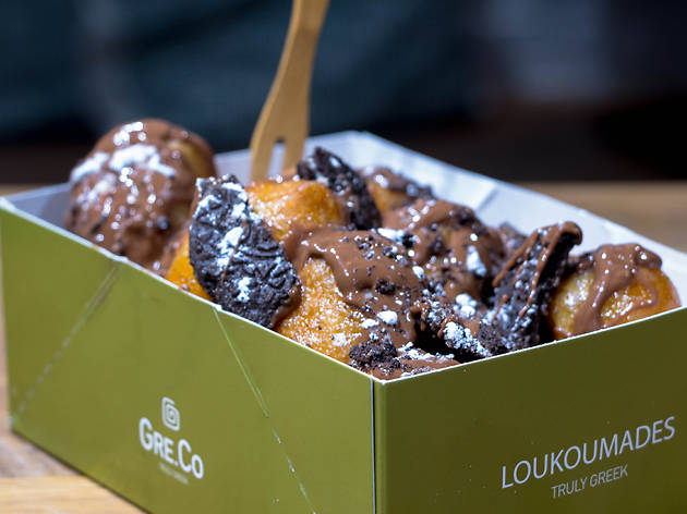 Loukoumades at Gre.co