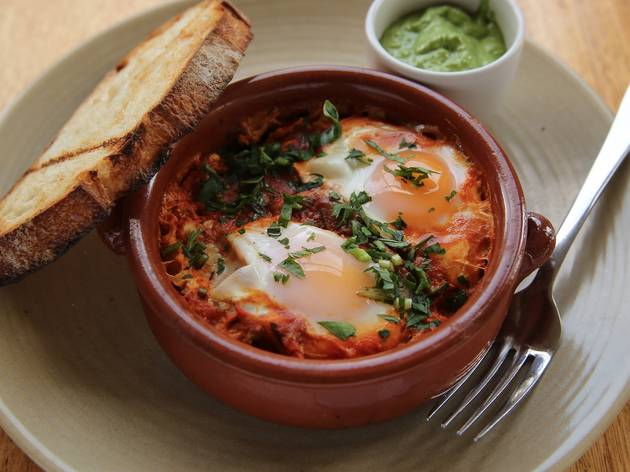 Shakshuka at Kepos St Kitchen