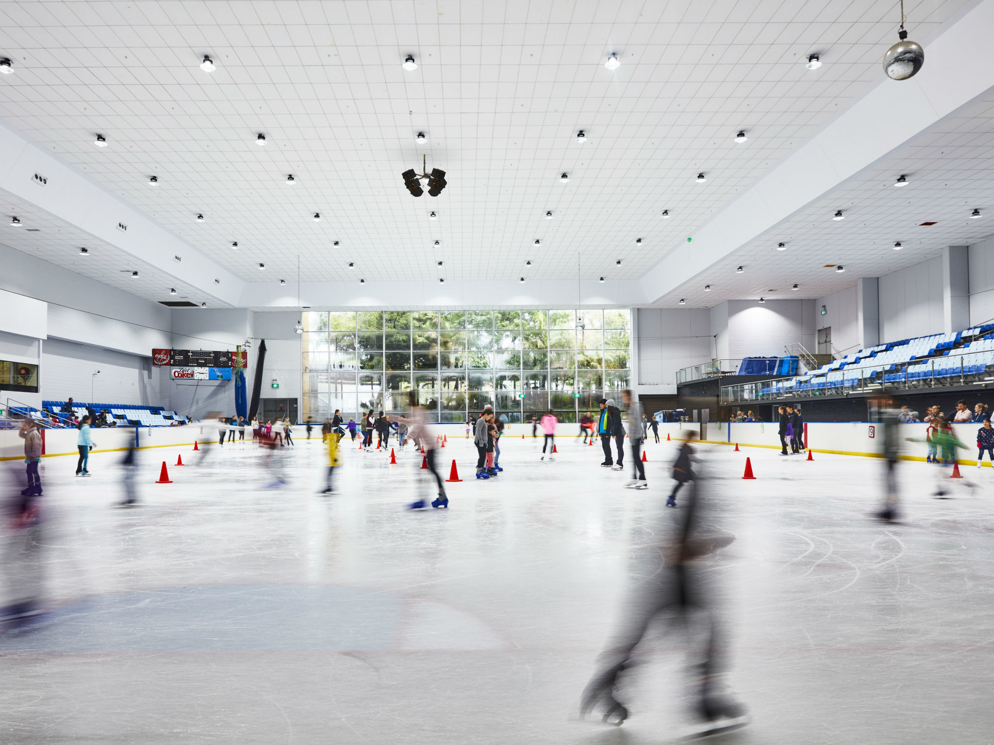 Macquarie Ice Skating rink