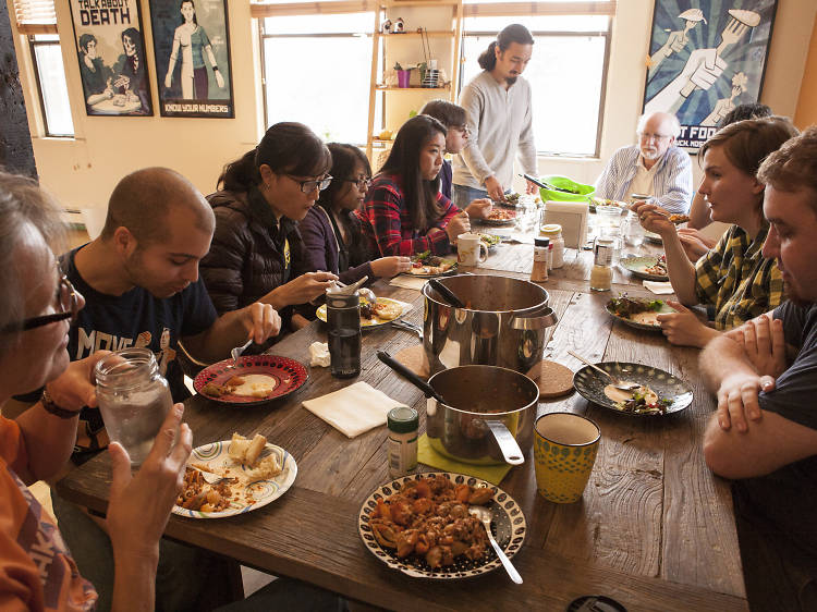 The Welcome Dinner Project