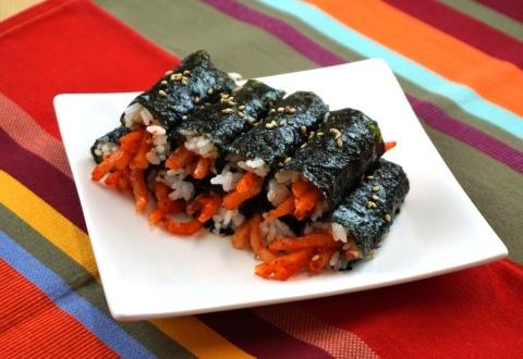 Shinchon Mini Kimbap (Kkoma Kimbap)