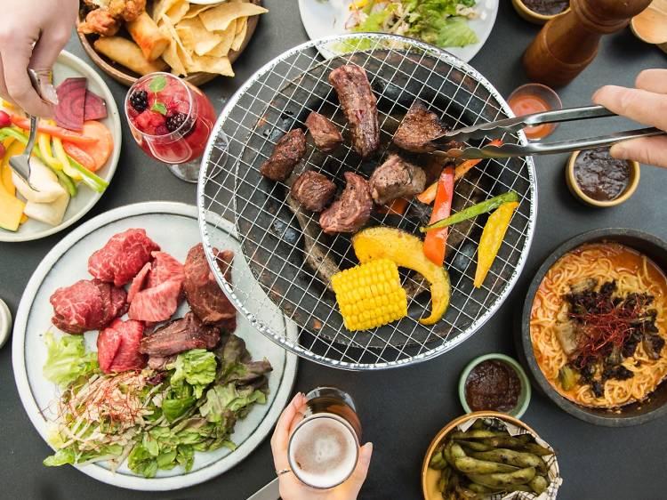 BBQは虎ノ門で楽しむ。