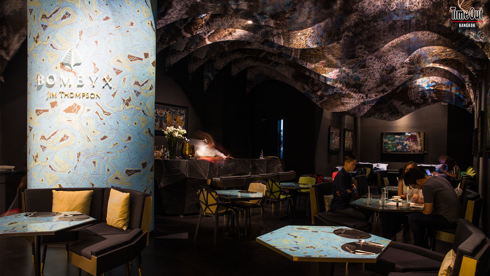 Bombyx, the latest dining outpost of silk conglomerate Jim Thompson