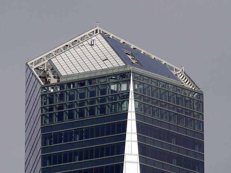 Subir al edificio más alto de España