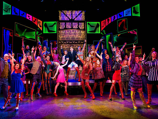 See an all-singing, all-dancing West End show