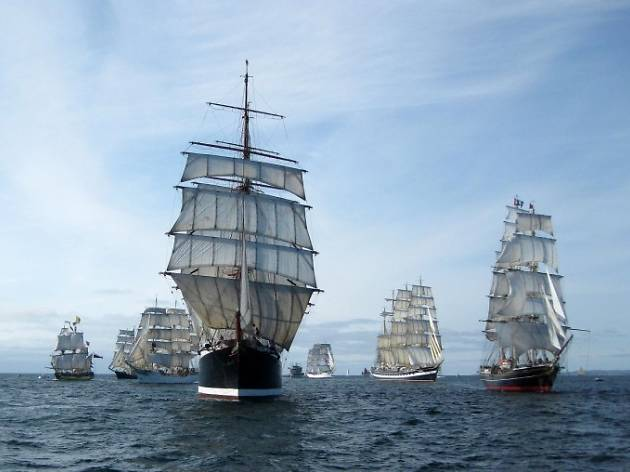Tall Ships Festival 2017 - Royal Greenwich