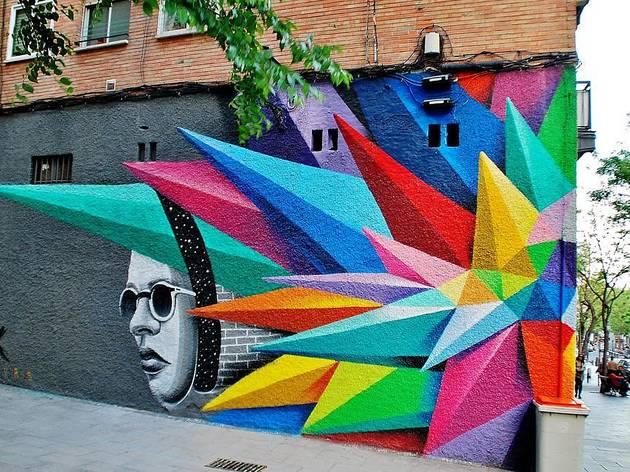 La guía interactiva del arte urbano en Madrid