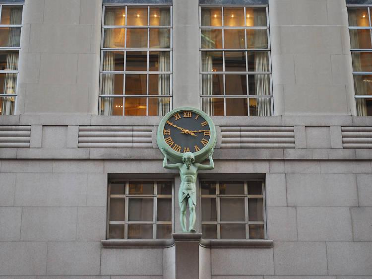 Tiffany & Co. Atlas Clock