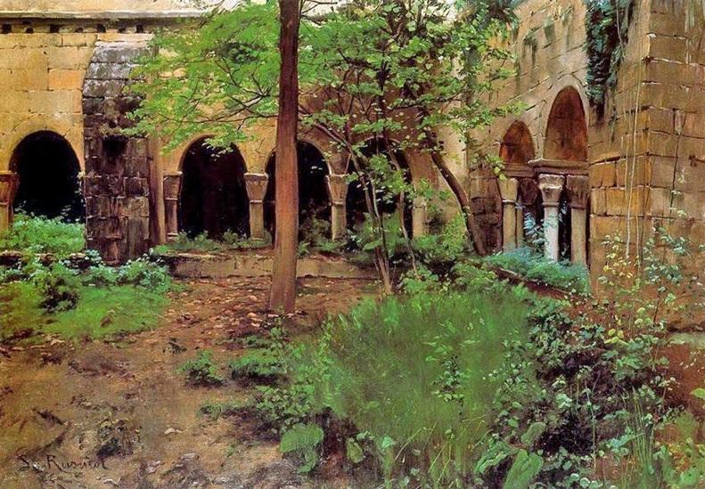 Santiago Rusiñol exposició Jardins d'Espanya