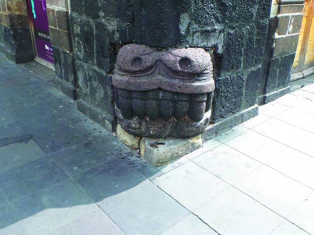 Cabeza de Quetzalcóatl