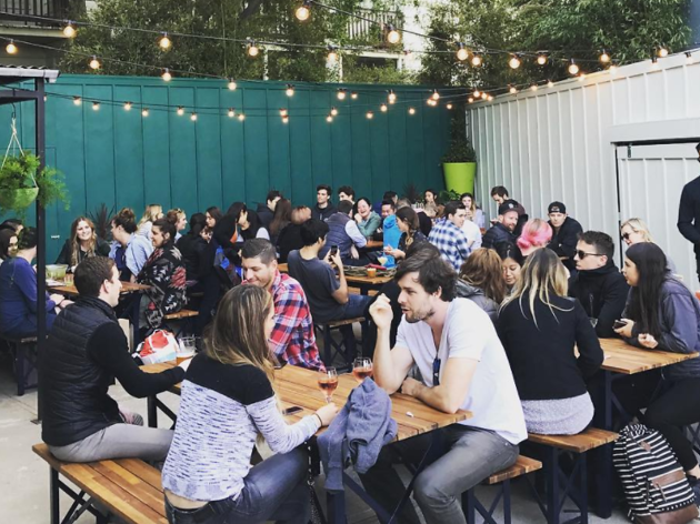The best outdoor bars in SF