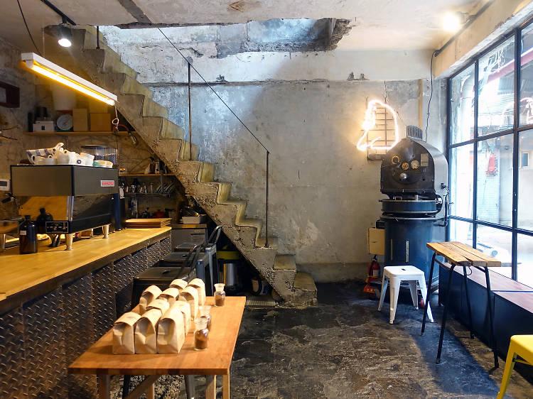 해방촌 유일의 스페셜티 커피, 오랑오랑