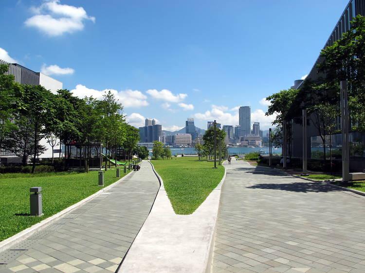Tamar Park, Admiralty